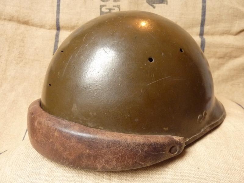 Un casque motorisé mod. 35 identifié du 18eme GRDI  P1190313