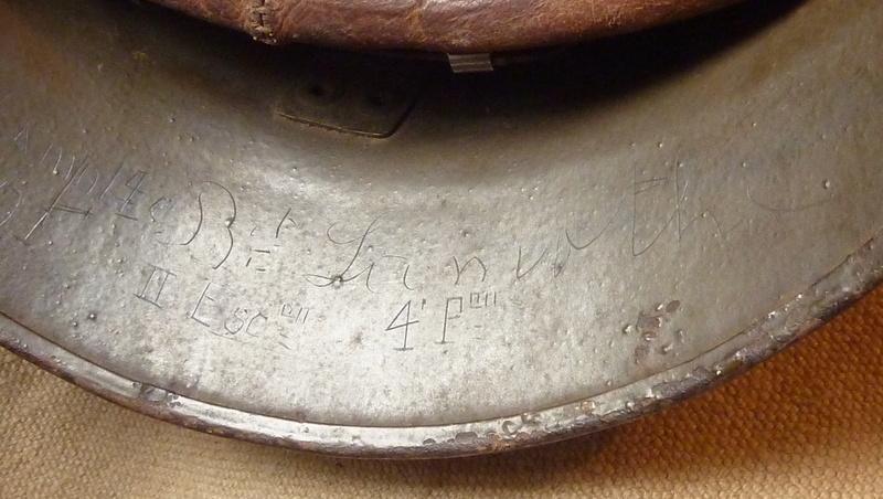 Un casque motorisé mod. 35 identifié du 18eme GRDI  P1190316