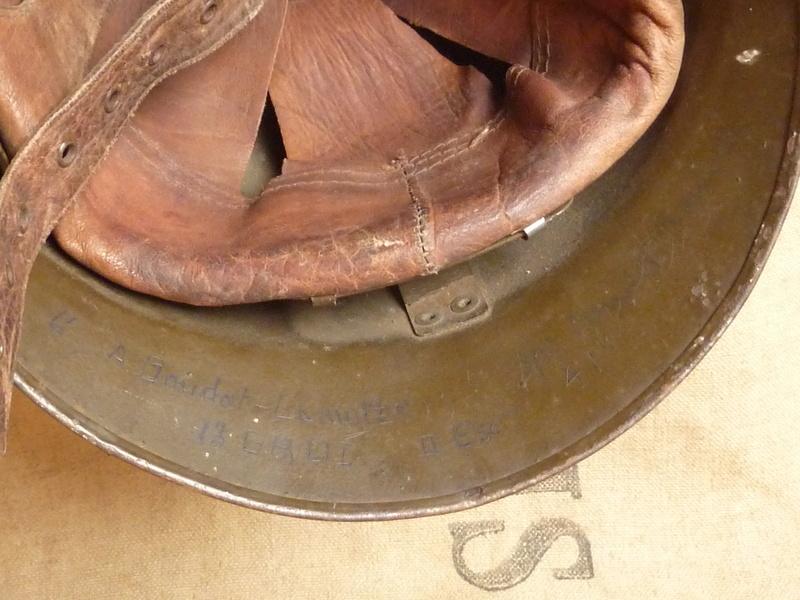 Un casque motorisé mod. 35 identifié du 18eme GRDI  P1190317