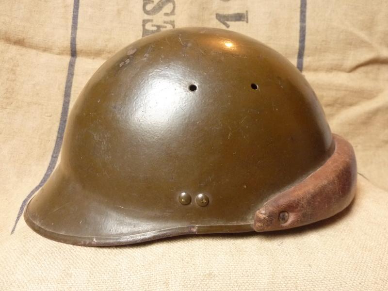 Un casque motorisé mod. 35 identifié du 18eme GRDI  P1190318