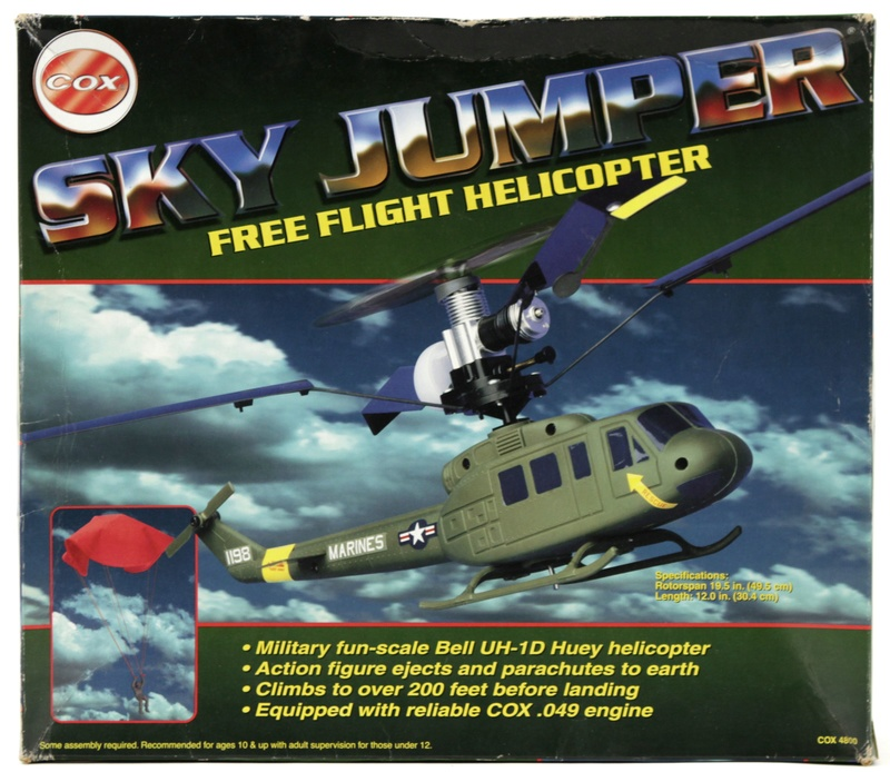 Cox Skycopter Free  Flight Helicopter 47242a10