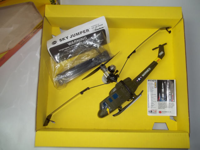 Cox Skycopter Free  Flight Helicopter _5810