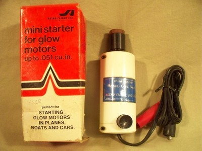"""Red Neck"" .049 elec. starter Astro-10"
