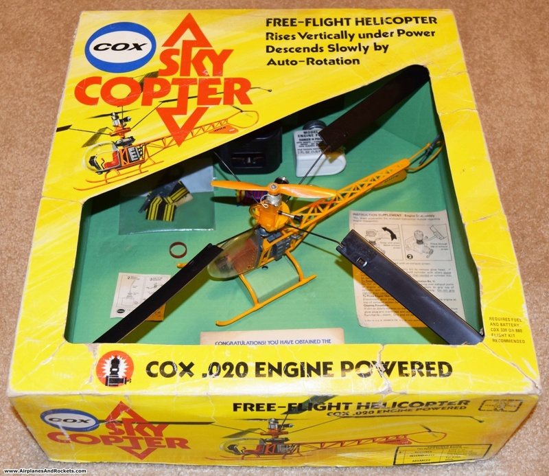 Cox Skycopter Free  Flight Helicopter Cox-sk10
