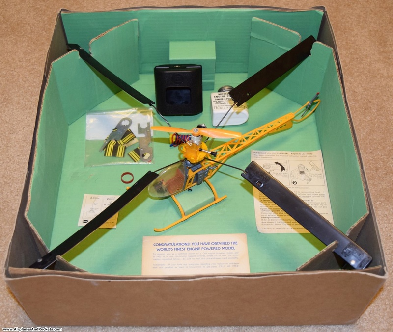 Cox Skycopter Free  Flight Helicopter Cox-sk11