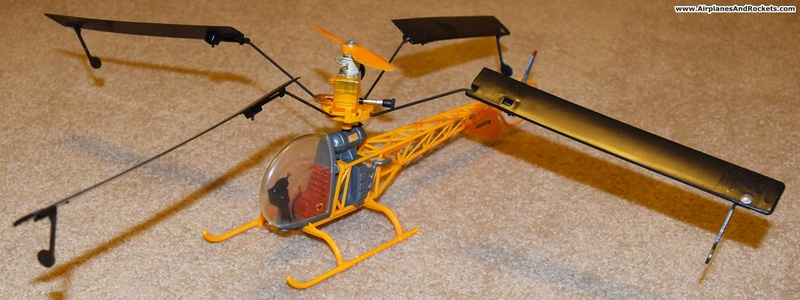 Cox Skycopter Free  Flight Helicopter Cox-sk12