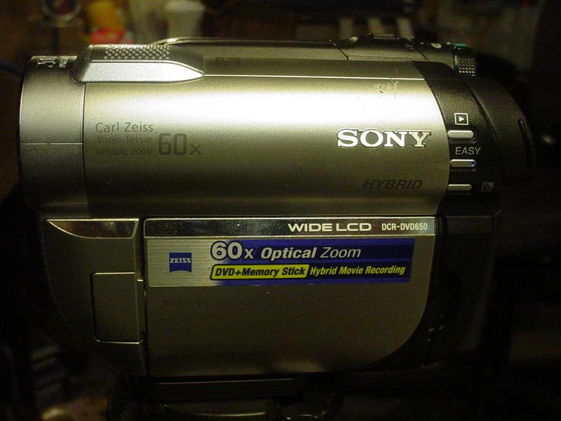 Sony Handycam DCR-DVD650 Dsc04932