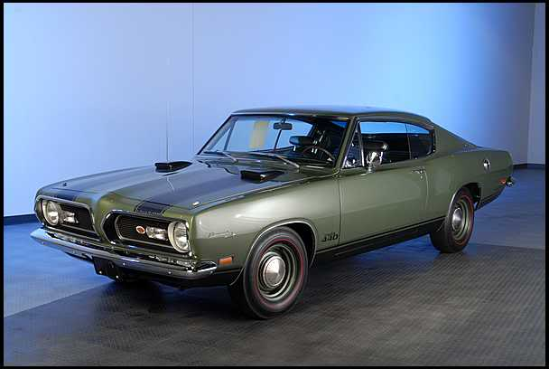1969 'Cuda 440 conversion MPC / AMT 0410