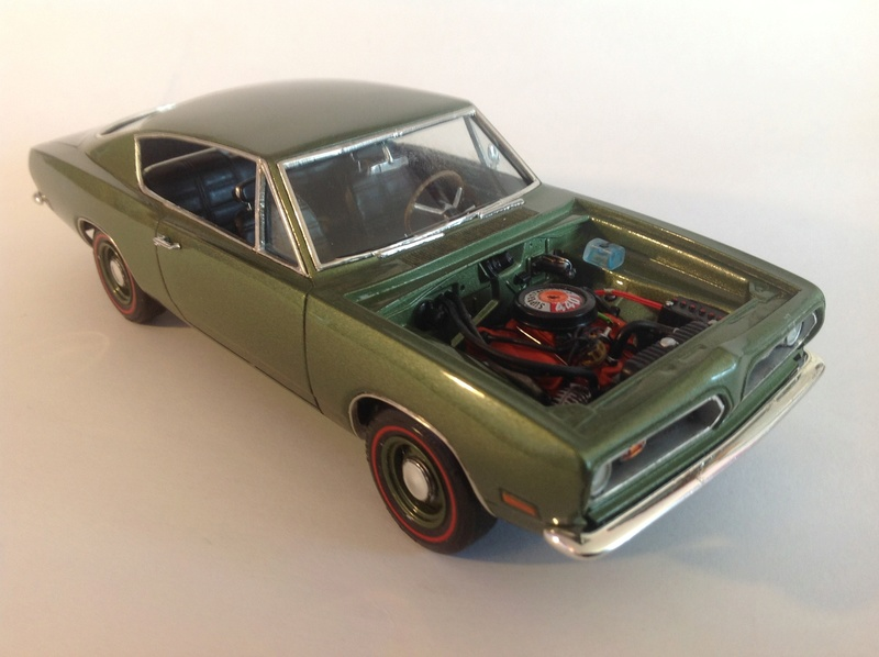 1969 'Cuda 440 conversion MPC / AMT 21_410