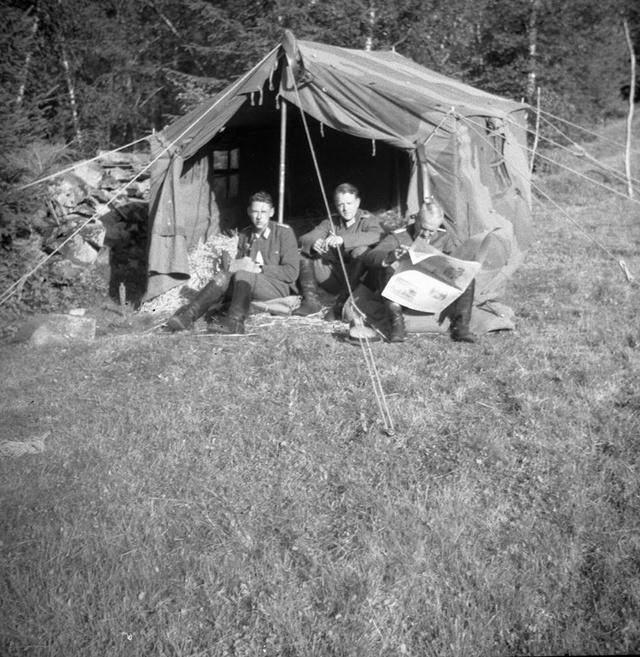 Tente allemande : Das Große Stabszelt 21078610