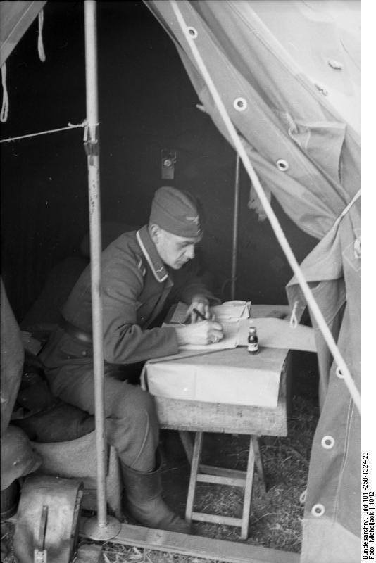 Tente allemande : Das Große Stabszelt 21150210