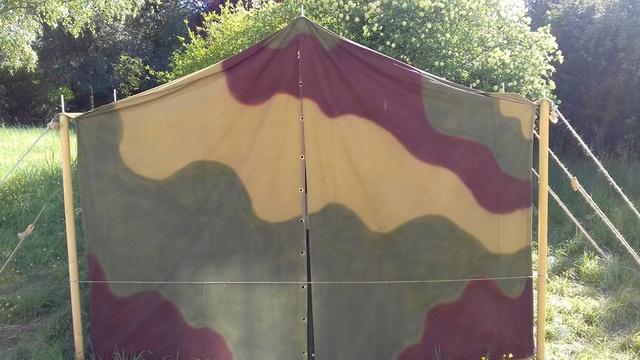 Tente allemande : Das Große Stabszelt 33896710