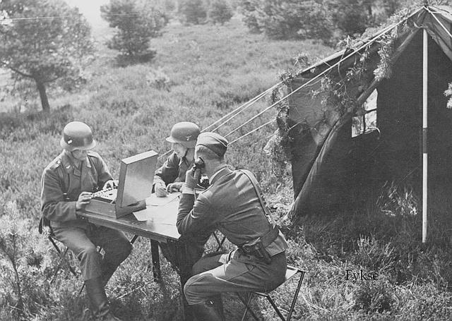 Tente allemande : Das Große Stabszelt Enigma10