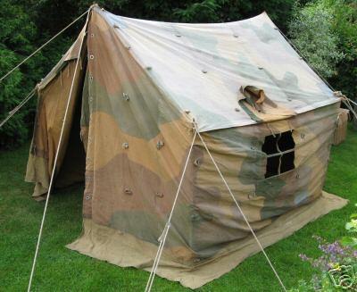 Tente allemande : Das Große Stabszelt Image110