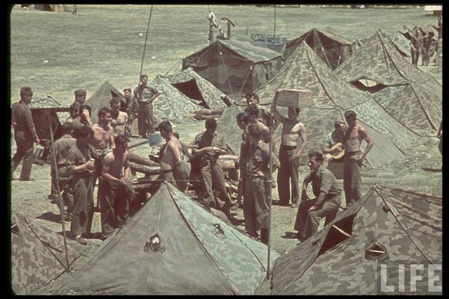 Tente allemande : Das Große Stabszelt Legion10