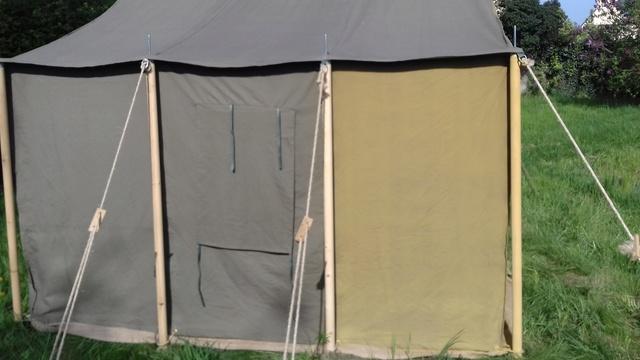 Tente allemande : Das Große Stabszelt Samsun28
