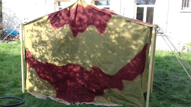 Tente allemande : Das Große Stabszelt Samsun39