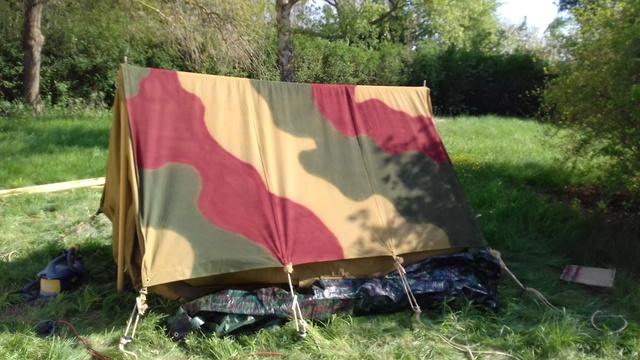 Tente allemande : Das Große Stabszelt Samsun40