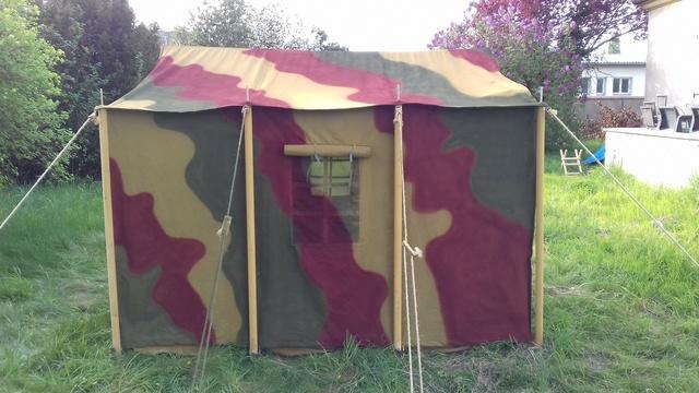 Tente allemande : Das Große Stabszelt Samsun41