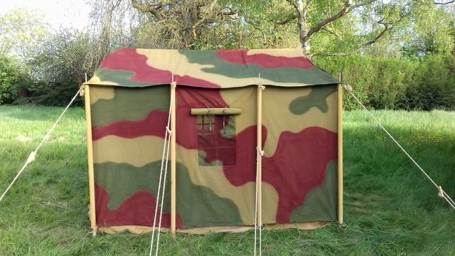 Tente allemande : Das Große Stabszelt Samsun42