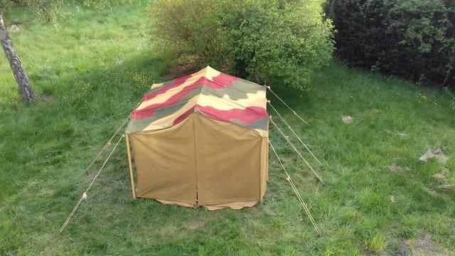 Tente allemande : Das Große Stabszelt Samsun43