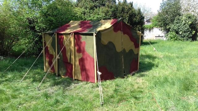 Tente allemande : Das Große Stabszelt Samsun44