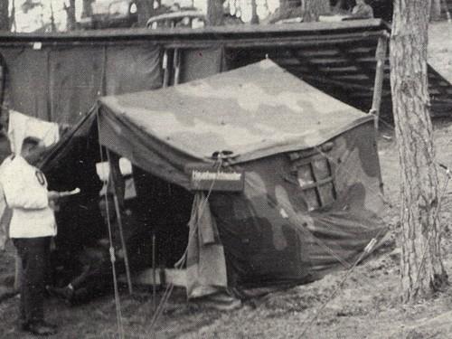 Tente allemande : Das Große Stabszelt Stabsz10