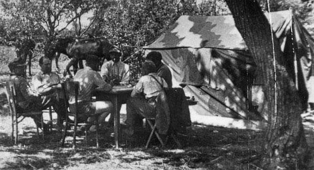 Tente allemande : Das Große Stabszelt Zelt-s10