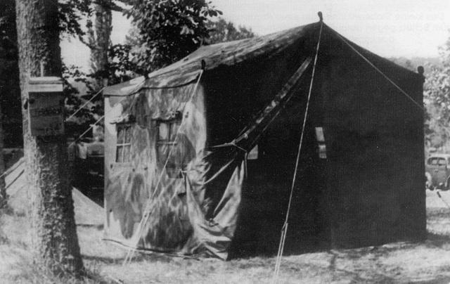 Tente allemande : Das Große Stabszelt Zelt-s11