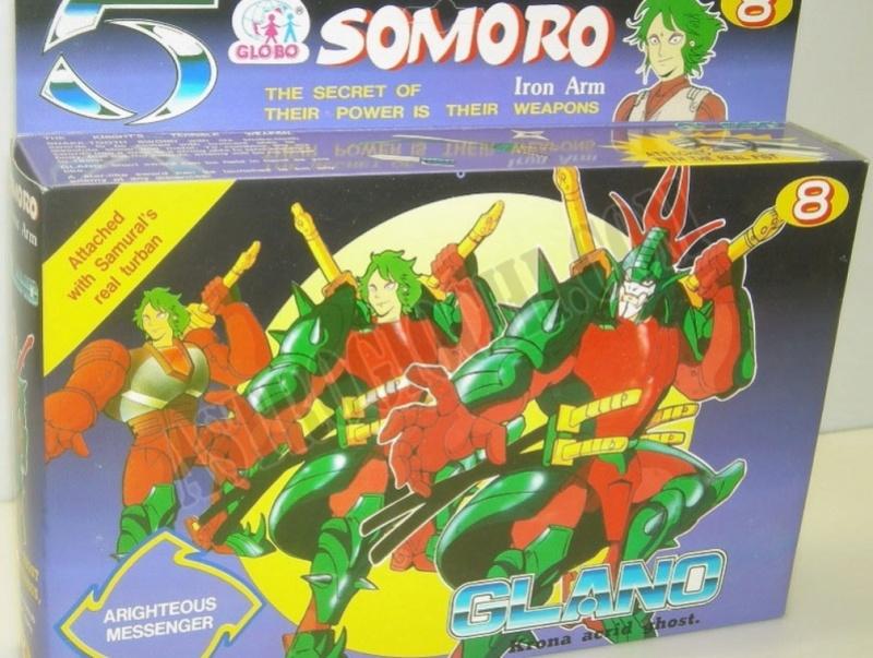 Cerco 5 Samurai versione bootleg SOMORO GLOBO Gland_10