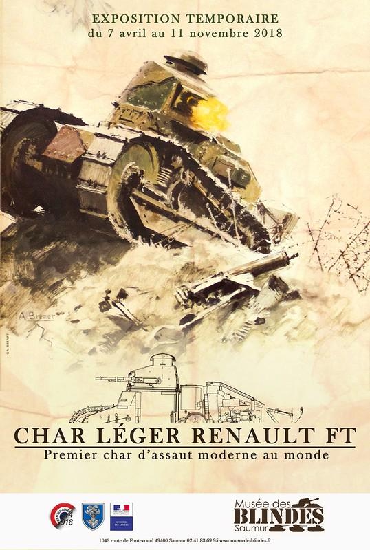 "Expo ""Char léger Renault FT"" à Saumur Expo_f10"