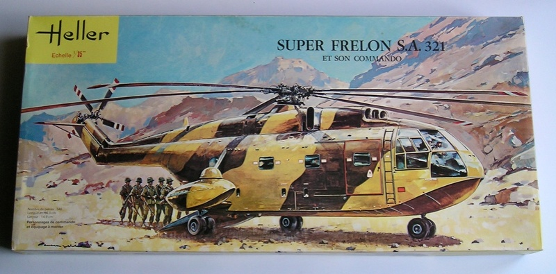 Sud Aviation SA321 Super Frelon 1/35 Heller Frelon10