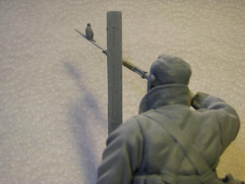 Avant la bataille d'Arras, mars 1917 - Soldat de la 35ème Division - Figurine résine David J. Parki Img_0032
