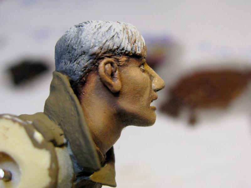 Avant la bataille d'Arras, mars 1917 - Soldat de la 35ème Division - Figurine résine David J. Parki Img_0035