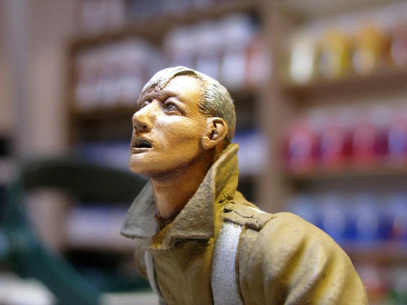 Avant la bataille d'Arras, mars 1917 - Soldat de la 35ème Division - Figurine résine David J. Parki Img_0036