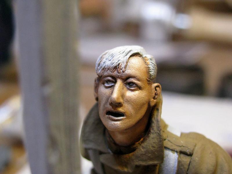 Avant la bataille d'Arras, mars 1917 - Soldat de la 35ème Division - Figurine résine David J. Parki Img_0040