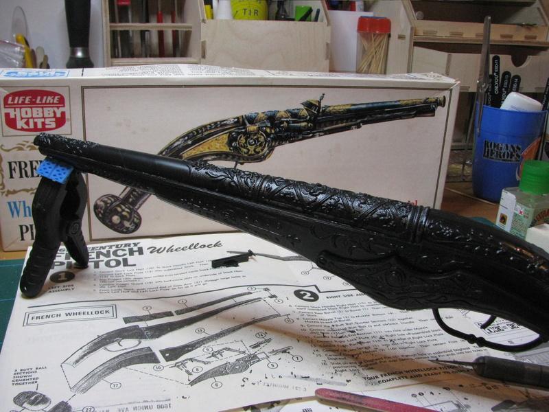 Pistolet à platine à rouet - LIFE-LIKE - Echelle 1/1 Img_0215