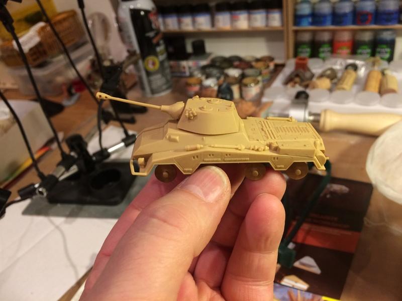 Sd.Kfz.234/2 Puma - 1. Panzer Aufklärungsabteilung - Lehr Division - Novembre 1944 - REVELL - 1/76 Img_5224