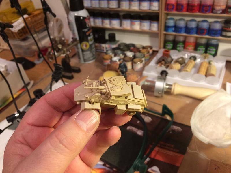HUMBER MkII - 8ème Armée britannique - Unité inconnue - Libye 1942-43 - REVELL - 1/76 Img_5227