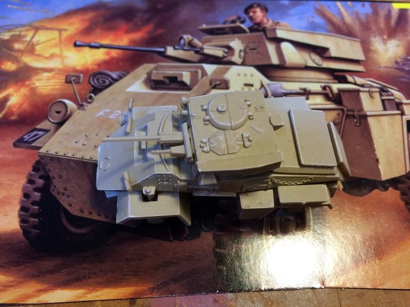 HUMBER MkII - 8ème Armée britannique - Unité inconnue - Libye 1942-43 - REVELL - 1/76 Img_5234