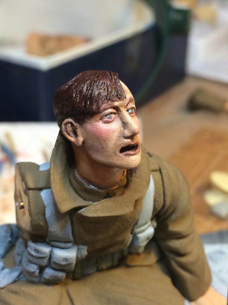 Avant la bataille d'Arras, mars 1917 - Soldat de la 35ème Division - Figurine résine David J. Parkins - 120 mm - Page 4 Img_5313
