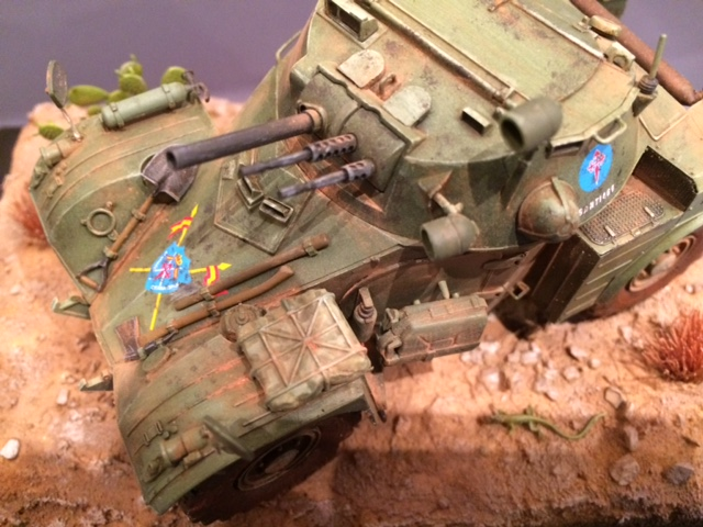 AML-60 de la Brigade de Cavalerie Jarama - Désert de Tabernas - Espagne - Takom 1/35 Img_5316