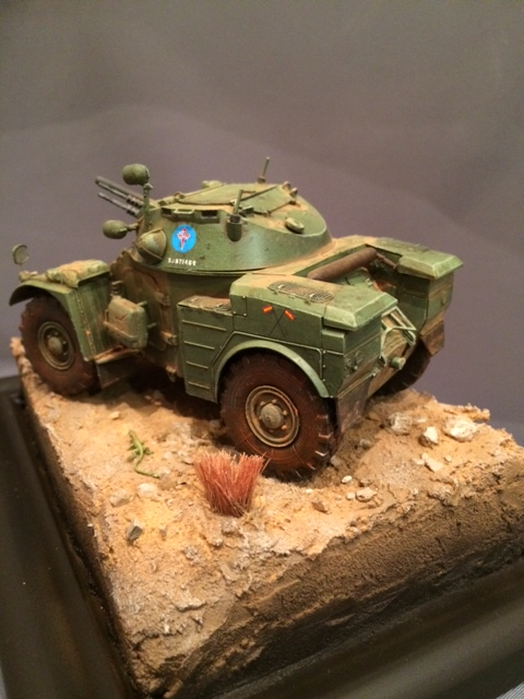 AML-60 de la Brigade de Cavalerie Jarama - Désert de Tabernas - Espagne - Takom 1/35 Img_5317