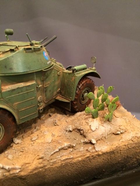 AML-60 de la Brigade de Cavalerie Jarama - Désert de Tabernas - Espagne - Takom 1/35 Img_5319