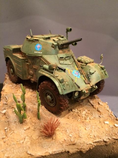 AML-60 de la Brigade de Cavalerie Jarama - Désert de Tabernas - Espagne - Takom 1/35 Img_5320