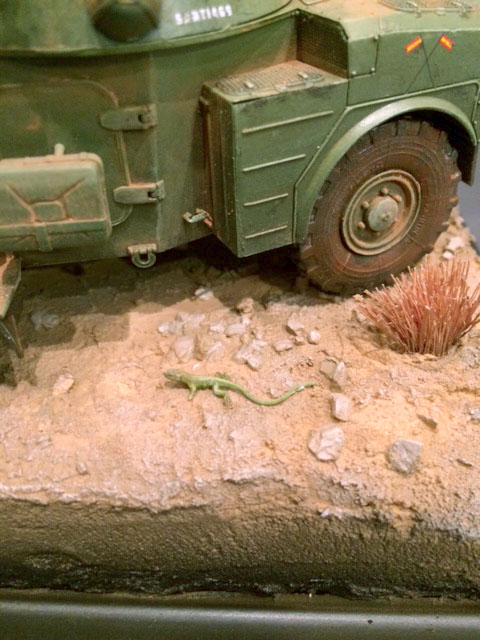 AML-60 de la Brigade de Cavalerie Jarama - Désert de Tabernas - Espagne - Takom 1/35 Img_5321