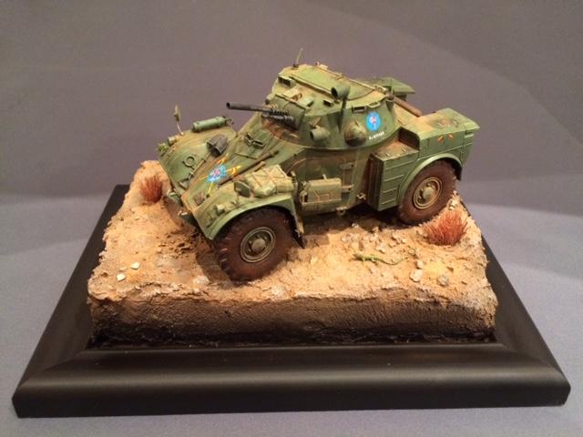 AML-60 de la Brigade de Cavalerie Jarama - Désert de Tabernas - Espagne - Takom 1/35 Img_5322
