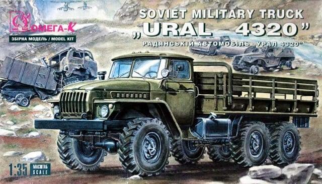 """ICM 35007 """"Antiterror operations"""" URAL 4320 + photodécoupe Eduard + photodécoupe Magic Models - Page 3 Omega-10"""