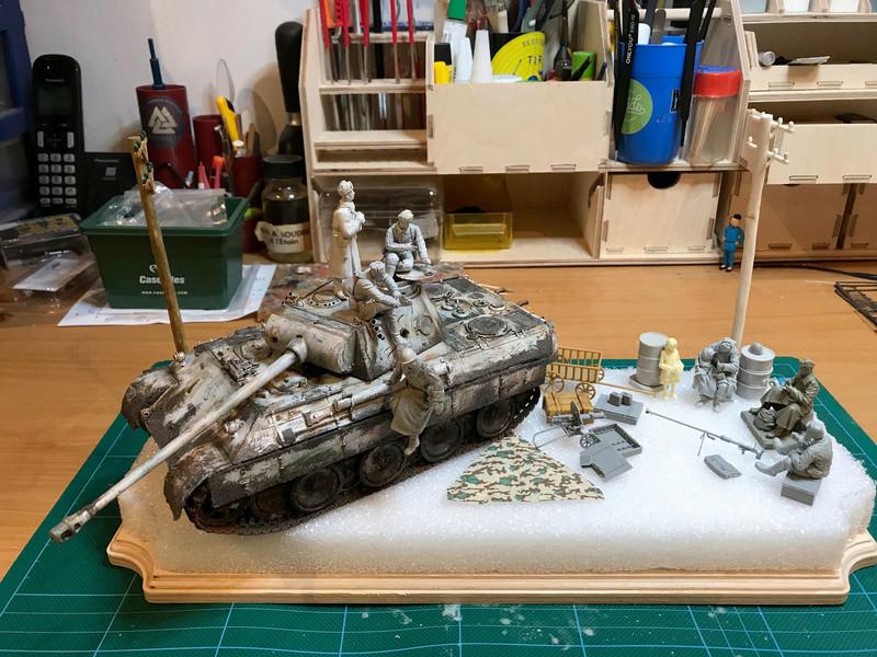 Un Panther en Russie - Hiver 43-44 - Tamiya 1/35 Panthe11