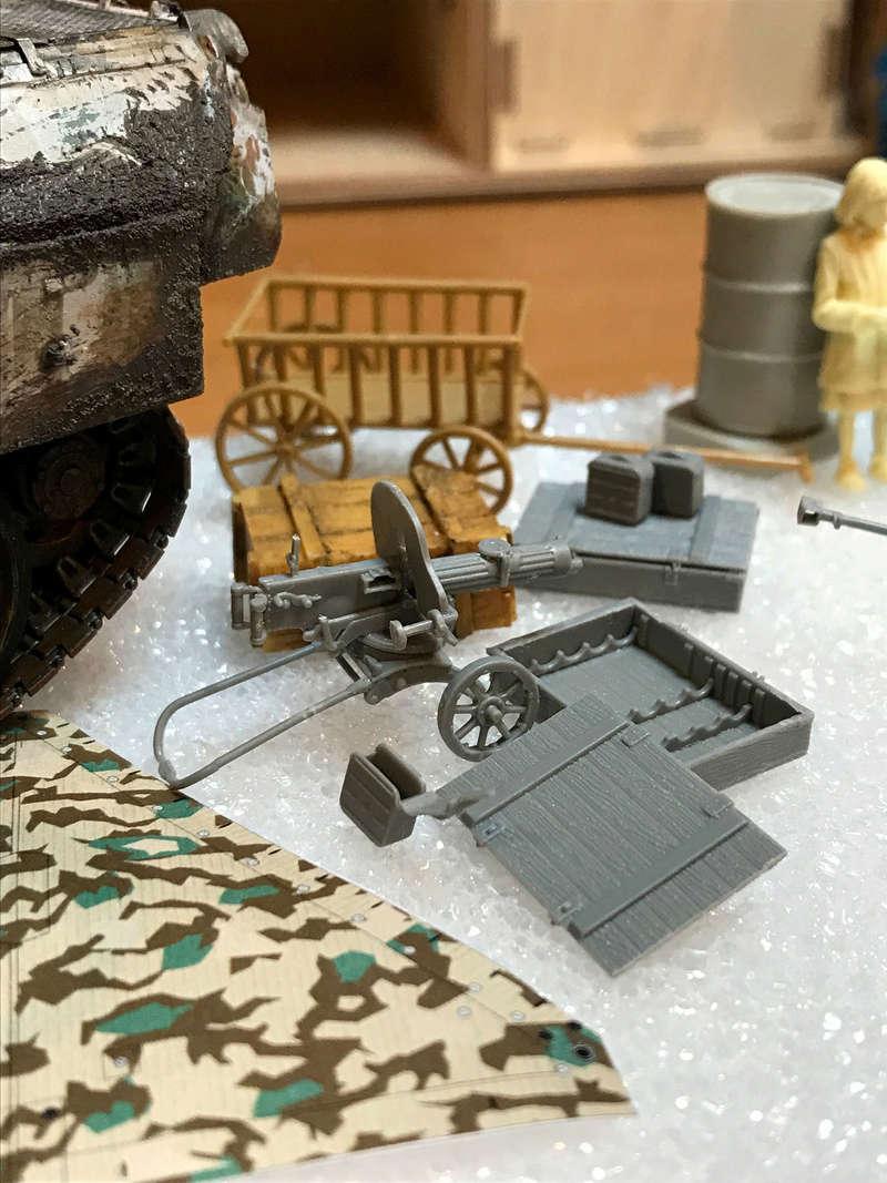 Un Panther en Russie - Hiver 43-44 - Tamiya 1/35 Panthe19